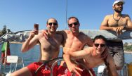 Boat Sunset Party is a great Stag Party activity in Albufeira