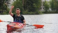 Canoeing in Riga is a great Stag Party activity in Riga