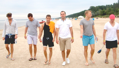 Jurmala Beach Daytrip is a great Stag Party activity in Riga