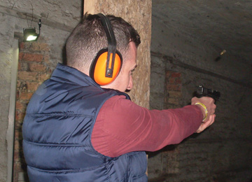Firearms Shooting is a great Stag Party activity in Riga