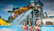 Aquapark is a great Stag Party activity in Riga