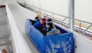 Winter Team Bobsleigh is a great Stag Party activity in Riga