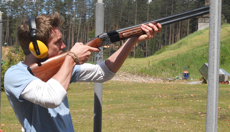 Clay Pigeon Shooting 25 clays is a great Stag Party activity in Riga