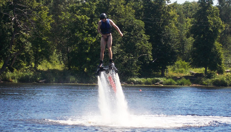 Dolphin Jetpack Flight is a great Stag Party activity in Riga