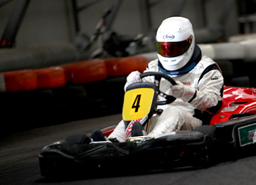Indoor Karting20 min is a great Stag Party activity in Riga