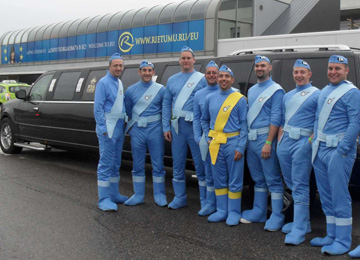 Strip Limo Airport  Pickup is a Stag Party transfer in Riga