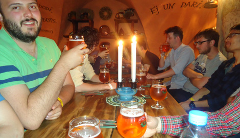 Latvian Meal in Traditional Restaurant is a great Stag Party activity in Riga