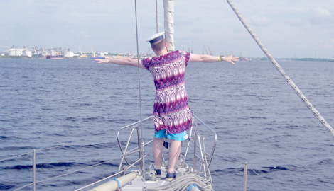 Stag Yacht is a great Stag Party activity in Riga