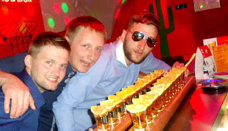 Guided Bar Crawl is a great Stag Party activity in Riga
