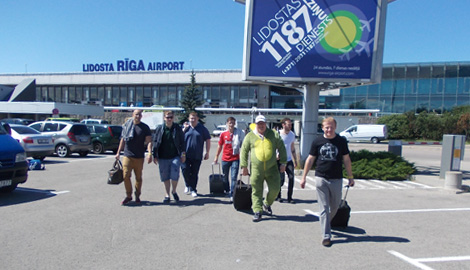 Minibus Airport Transfer ONE WAY is a Stag Party transfer in Riga