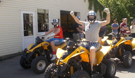 Quad Biking is a great Stag Party activity in Riga