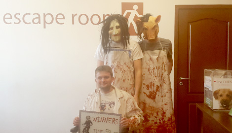 Escape - A - Room is a great Stag Party activity in Riga